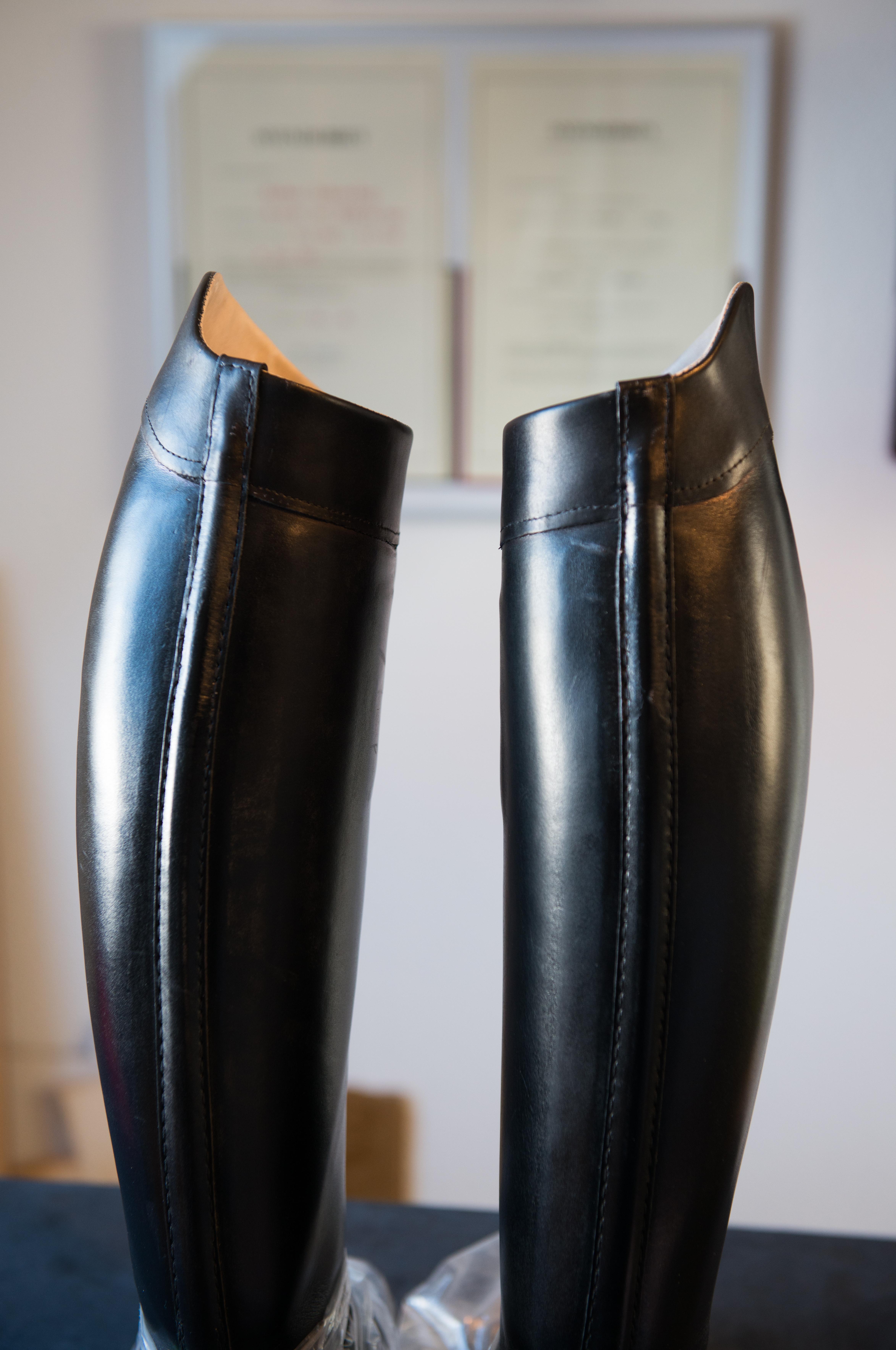 udskiftning af lynlås i støvler